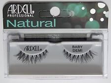 (LOT OF 3) Ardell Natural BABY DEMI False Fake Eyelashes Black Wispies