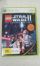 Lego Star Wars II 2 The Original Trilogy Xbox 360 Game PAL