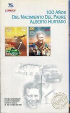 Chile 2001 Brochure 100 años Nacimiento Padre Alberto Hurtado