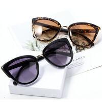 Vintage Cat Eye Women Gradient Sunglasses Outdoor UV400 Polarized Mirror Eyewear
