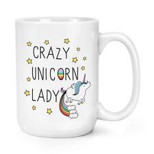 Crazy Unicorno LADY 15oz Mighty Tazza-Arcobaleno Magico Unicorni BIG GRANDE
