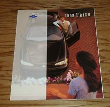 Original 1999 Chevrolet Prizm Sales Brochure 99 Chevy