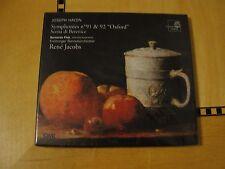 Haydn - Symphonies 91/92 - CD Harmonia Mundi SEALED Rene Jacobs