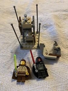 Lego Star Wars Lightsaber Duel Set 7101 Complete With Minifigs Darth Maul
