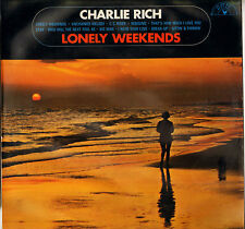 """CHARLIE RICH """"LONELY WEEKENDS"""" 60'S LP SUN 6467 003"""