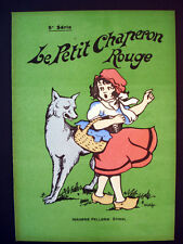 Vintage Imagerie Pellerin Le Petit Chaperon Rouge 5th Series Illustrated Inv1303