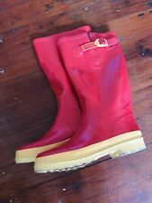 Marc jacobs Red And Orange Rain Boots Size Eur 40 Or Us 9