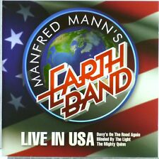 CD - Manfred Mann's Earth Band - Live In USA - A5260 - RAR