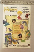 The Pagemaster Macauley Culkin RARE Print Advertisement