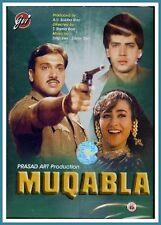 MUQABLA (DVD-1993, 1Disc) Region 2. GOVINDA, KARISMA KAPOOR, ADITYA PANCHOLI****