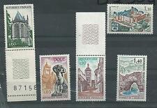 série touristique  neuf **  année 1971 N°1683 à 1687