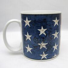 American Flag Colonial Stoneware Mug Cup Warren Kimble Design