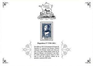France UK 2021 PATRIMOINE heritage NAPOLEON 1769 1829 uniform emperor RARE sheet