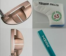 "YAMADA GOLF PUTTER Legend7 for RIGHT Hand 33"",34"",35"" Rubber Grip + Cover Japan"
