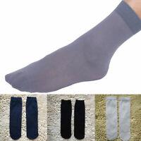 10 Pairs Comfortable Summer Men's Short Bamboo Fiber Sock Stockings Middle V6L7