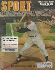 June 1956 Sport Magazine - Willie Mays New York San Francisco Giants HOF