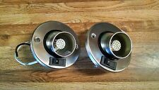 2pk 12V LED RV Camper Trailer Motorhome Directional Reading Light Brushed Nickel