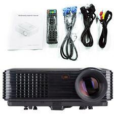3D 1080P Home Theater Cinema Projector  LED / LCD HDMI AV TV VGA HD Projectors