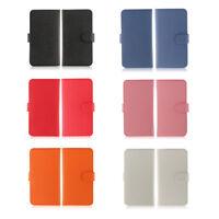 Superbe étui à rabat universel en simili cuir pour tout iPhone dispo 6 couleurs