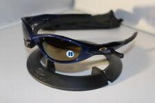 New Oakley Minute 2.0 Sunglasses Midnight Blue/Gold Iridium 04-517 Rare 2007