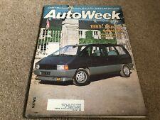 AUG 6 1984 AUTOWEEK car MAGAZINE - ESPACE ODYSSEY