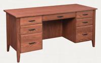 Custom Built | NEW | Solid Wood | Customizable | Hamilton's Executive Desk