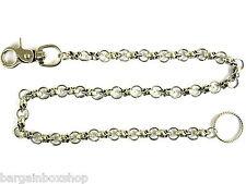 55cm Long Strong Metal Skulls Hipster Key Wallet Ring Clip Chain keychain Biker
