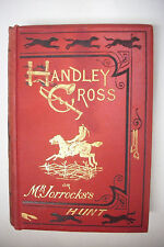 1870 HANDLEY CROSS*Fox Hunting*w Magnificent Hand-Colored Illustrations by Leech