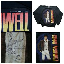 Vintage Ronnie McDowell 1992 autographed Concert Shirt Country Music Retro 2XL