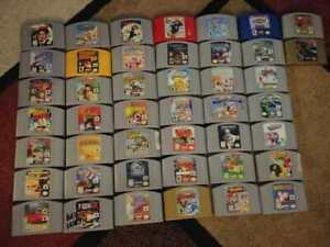 Nintendo N64 Games Pick & Choose Over 200 Available CART ONLY