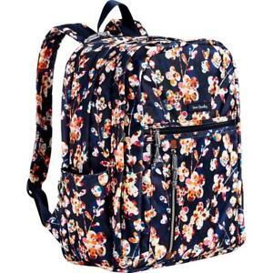Vera Bradley CUT VINES Lighten Up GRAND Large Backpack Laptop Trolley Sleeve