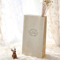 8Pcs Bolsa papel De Galletas fiesta de navidad Caja regalo dulces bolso de boda