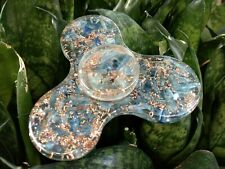 Blau Kyanit Energetisiert Orgon Zappeln Spinner Rund Kristall Therapie