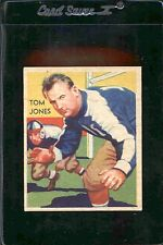 1935 National Chickle TOM JONES #17 Vintage Football Card
