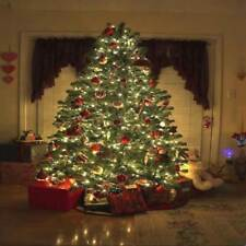 Light Up 30 LED Christmas Tree Ornaments Presents Lighted Picture Wall Canvas