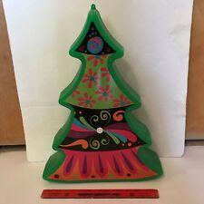 green christmas tree blowmold blow mold decoration general foam plastic unused y