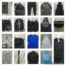 Gym Shark Mens Bulk Lot Tops, Bottoms And Bags 20 Items Genuine Items