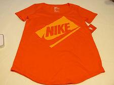 Nike Womens short sleeve t shirt S small The Nike TEE 779126 696 training NWT*^