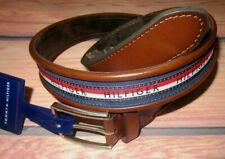 MENS TOMMY HILFIGER BROWN BELT SIZE M (34/36)
