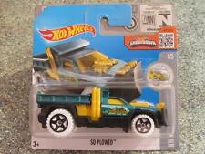 Hot Wheels 2016 #156/250 SO PLOWED Emerald green yellow HW Snow stormers Case L