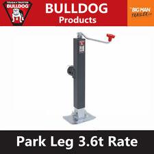 Bulldog Trailer Jack Park Legs Jockey Wheel Stand Trailer Caravan 3600kg 190708
