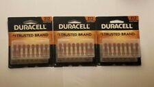 3 Duracell Hearing Aid 312 Batteries 16 Packs