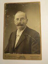 Hannover - Carl Grotrian ? als Mann mit Bart & Zwicker im Anzug - Portrait / KAB