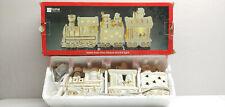 Santa Train Ivory Bisque Accent Light Jcp Home Collection 3 Pcs Set Gold  00006000