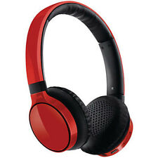 Philips SHB9100RD Bluetooth stereo headset On-ear SHB9100 Red
