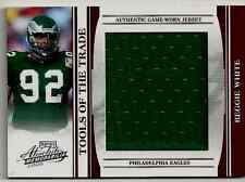 Reggie White Swatch non auto Tools of the trade Jumbo Swatch Patch Jersey #4/50