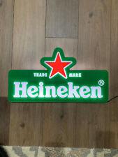"Heineken Led Beer Sign 20""x 12"""