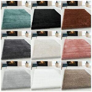 Wunderschöne Shaggy Hochflor Langflor 50mm Shaggy Teppich in Verschiedene Farben