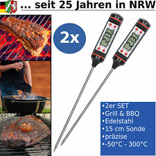 BBQ Grill Smoker Thermometer Grillthermometer Fleischthermometer Digital LCD