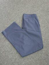 RALPH LAUREN Navy Blue Cotton Solid Tennis Flat Zip Front Pants NWT Sz 8 DD5259